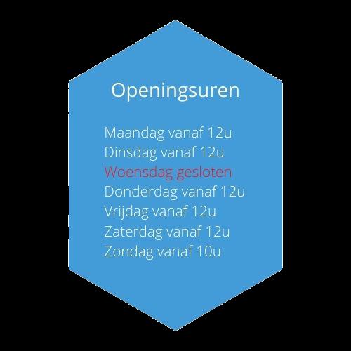 Openingsuren Café 't Centrum